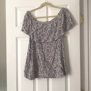 Free People Off-the-Shoulder Blouse